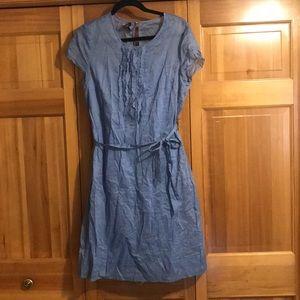 Blue lightweight dress
